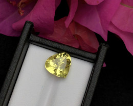 Top Grade 5.70 ct lovely Citrine Ring Size