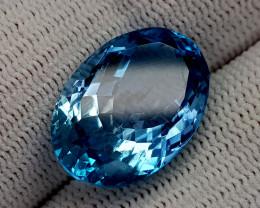 15.65CT BLUE TOPAZ BEST QUALITY GEMSTONE IIGC72