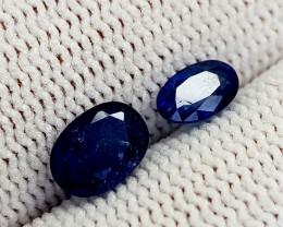 1.85CT BLUE SAPPHIRE HEATED BE BEST QUALITY GEMSTONE IIGC72