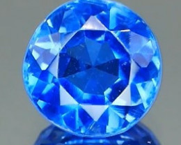 *Bidding Starts $15 NR* Intense Cornflower Blue Kyanite Round 0.89Ct