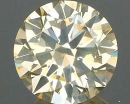 *NR*Unusual Soft Beige Champagne Diamond 1.00Ct NO TREATMENT
