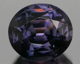*Bidding Starts $15 NR* Lead Grey Spinel Oval 4.24Cts NO HEAT