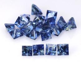 Ceylon Sapphire 3.19 Cts 34Pcs Rare Natural Blue Color