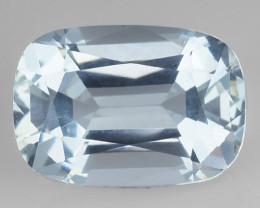 Aquamarine 3.21 Cts Unheated  Santa Maria Blue  Natural Gemstone
