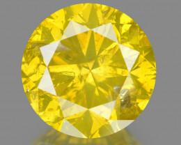 Diamond 1.03 Cts Fancy Intense Yellow Natural