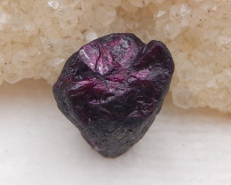D2006 - 21.5cts Red Ruby Gemstones, Ruby Cabochons, Ruby Slices, Rose Cut S