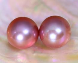 10.0mm 14.26Ct Natural Australian South Sea Purple Color Pearl B1502