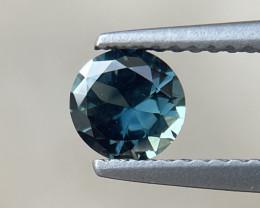 0.65ct Unheated Teal Sapphire