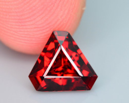 Top Grade 2.05 ct Fancy Cut Red Garnet