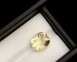 Top Grade  8.00 ct Light Color Citrine Ring Size