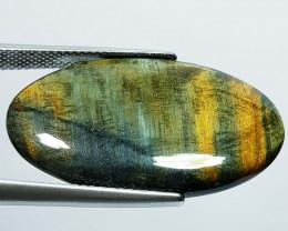 16.65 ct Natural Tiger Eye Oval Cabochon  Gemstone