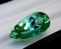 25.55crt green spodumene Natural Gemstones JI64
