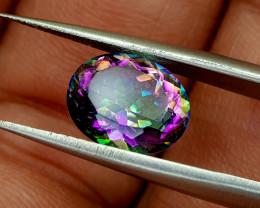 2.25crt mystic quartz Natural Gemstones JI64