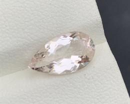 2.47 Carats Natural  Morganite Gemstone