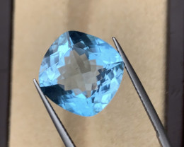 18.25 Cts Natural Swiss Blue topaz gemstone