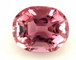 2.95(ct) Majestic Pink Color Custom Cut Congo Tourmaline