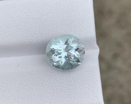3.60  Cts Natural Aquamarine Gemstone