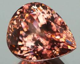 *NR* Sparkling Peach Zircon 19.01Cts  Mined in Tanzania