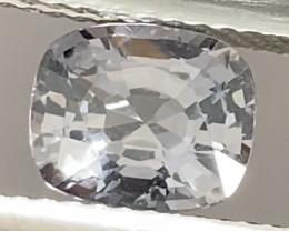 Pretty Cushion Cut Silver Grey Spinel - Burma