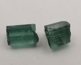 Tourmalines, 3.02ct, great colour, ready to cut!