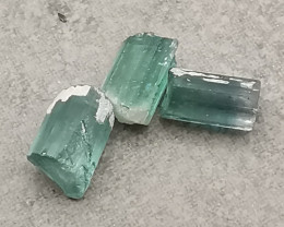 Tourmalines, 3.945ct, out of the earth waiting for you!