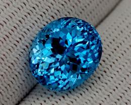 12.65CT BLUE TOPAZ BEST QUALITY GEMSTONE IIGC73
