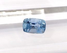 0.89ct unheated blue sapphire