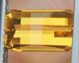 2.07cts Pixel Cut / Minecraft Cut  Yellow Beryl