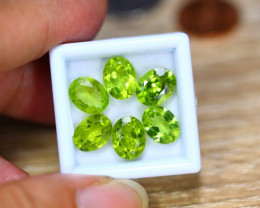 11.89ct Natural Green Peridot Oval Cut Lot GW8949