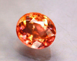 Tourmaline 1.23Ct Natural Reddish Orange Tourmaline E1716/B49