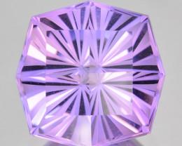 ~CUSTOM CUT~ 9.48 Cts Natural Purple Amethyst Fancy Cushion Bolivia