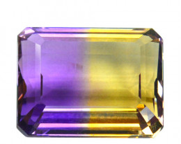 4.50 Cts Natural Bi-Color Ametrine Octagon Emerald Cut Bolivia