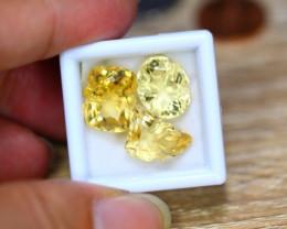 17.29ct Natural Yellow Citrine Fancy Cut Lot V7625