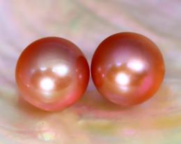 10.0mm 14.75Ct Natural Australian South Sea Orange Purple Pearl A1411