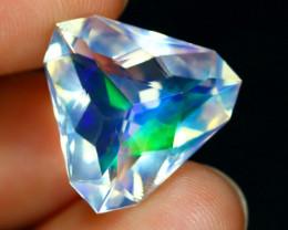 ContraLuz 7.26Ct Trillion Cut Mexican Very Rare Species Opal A1419