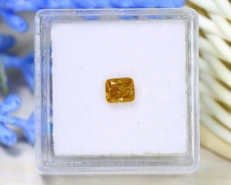 0.42Ct Orange Diamond NaturalUntreated Genuine Fancy Diamond A1420