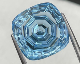 16.70 Cts Master Cut Top Quality Natural Blue Topaz