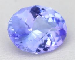 Tanzanite 2.72Ct VVS Master Cut UnheatedPurplish Blue Tanzanite A1425