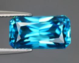 13.46 CT ZIRCON BLUE 100% NATURAL MINE COMBODIA