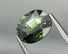 1.92 Cts Fine Quality Bluish Green Natural Parti Sapphire