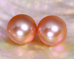 8.0mm 7.48Ct Natural Australian South Sea Pink Color Pearl C1432