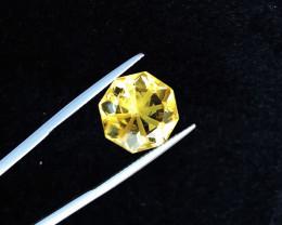 8.30 Ct Natural Yellow Transparent Citrine Gemstone