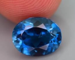 Ring Size Topaz 2.35 Ct Natural London Blue Topaz
