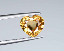 2.35 ct Natural Yellow Zircon Heart Shape - From Cambodia