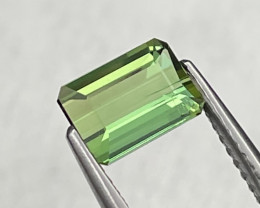 1.39 Cts Top Quality Forest Green Natural Tourmaline