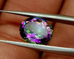 2.25crt mystic quartz Natural Gemstones JI65