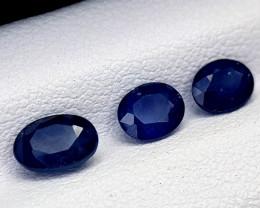 1.85crt blue sapphire lot heat be Natural Gemstones JI65