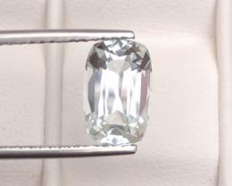 Aquamarine 3.15Ct Natural  Beautiful Aquamarine Gemstone