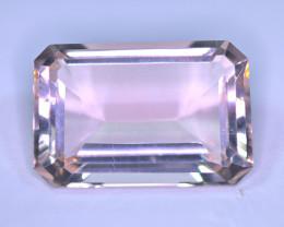 4999$$$ Flawless 117.5 Carat Long Asscher Cut Pink Fluorite Gemstone @Pakis