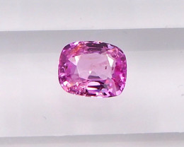 1.14ct unheated pink  sapphire